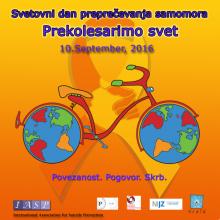 Svetovni dan preprecevanja samomora 2016_kolesarjenje